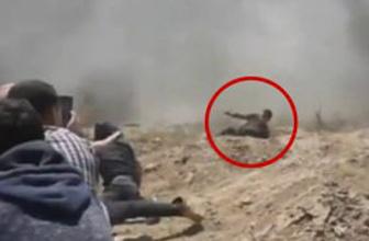 İşgalci İsrail askerlerinin Filistinlileri şehit etme anı!