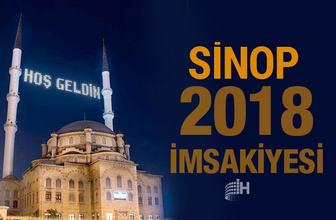 Sinop İmsakiye 2018 Diyanet sahur imsak vakti iftar saatleri