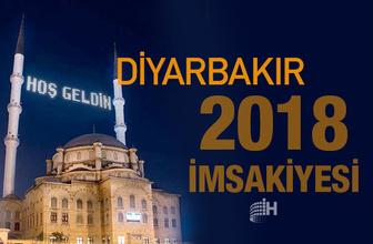 Diyarbakır İmsakiye 2018 Diyanet sahur imsak vakti iftar saatleri