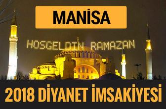 2018 İmsakiye Manisa- Sahur imsak vakti iftar ezan saatleri
