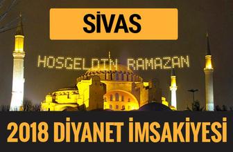2018 İmsakiye Sivas- Sahur imsak vakti iftar ezan saatleri