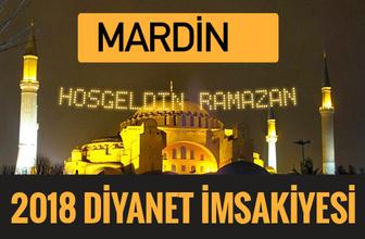 2018 İmsakiye Mardin- Sahur imsak vakti iftar ezan saatleri