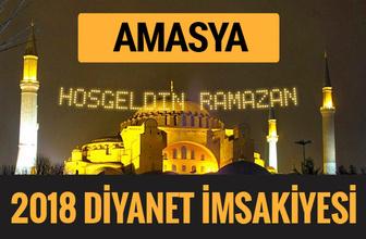 2018 İmsakiye Amasya- Sahur imsak vakti iftar ezan saatleri