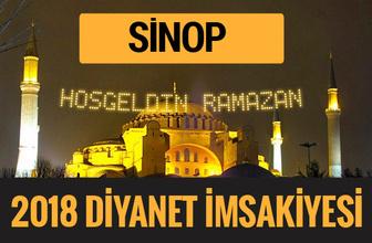 2018 İmsakiye Sinop- Sahur imsak vakti iftar ezan saatleri