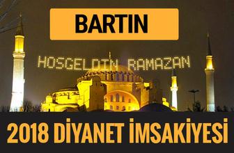 2018 İmsakiye Bartın- Sahur imsak vakti iftar ezan saatleri