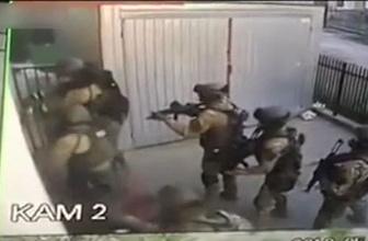 Polisten kaçmak isterken 'çırılçıplak' camdan düştü!