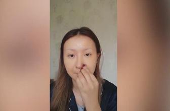 Yaptığı makyajın görüntüsü sosyal medyada viral oldu