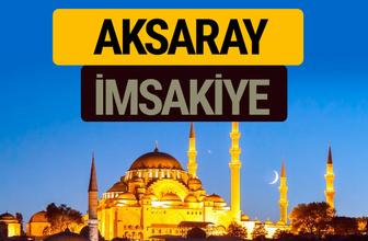 Aksaray İmsakiye 2018 iftar sahur imsak vakti ezan saati
