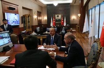 Erdoğan, Venezuela Devlet Başkanı ile telekonferans yöntemiyle görüştü