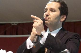 Fatih Erbakan'dan Saadet Partisi'ne sert tepki
