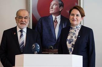 Akşener'den Karamollaoğlu'na ittifak ziyareti!