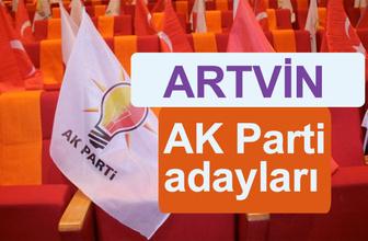 AK Parti Artvin milletvekili adayları kimler 2018 listesi