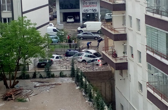 Ankara'dan korkutan afet görüntüleri