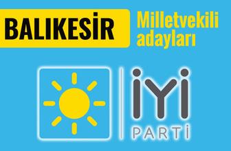 İyi Parti Balıkesir milletvekili adayları 2018 listesi