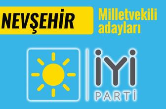İyi Parti Nevşehir milletvekili adayları 2018 listesi