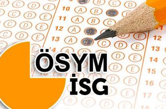 ISG soru cevapları ne zaman açıklanacak-kitapçık türüne göre cevaplar