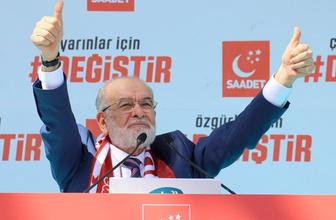 Saadet Partisi milletvekili adayları 2018 SP listesi