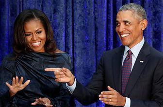 Obama çiftinden sürpriz imza!