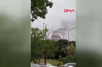 İstanbul Teknik Üniversitesi'nde korkutan yangın