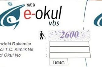 e-okul öğrenci girişi yap LGS sınav giriş belgesi alma mühürlü onay