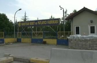 Ankara'daki barut fabrikasında patlama! ölü ve yaralılar var