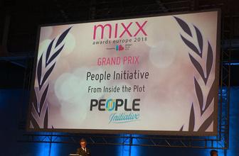Avrupa'nın en iyisi People Initiative oldu