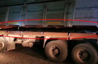 Kaçak sigaraları kamyona böyle gizlemişler