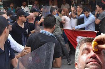 İzmir'de ortalık karıştı: Polis biber gazı kullandı!