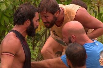 Survivor'da büyük kavga: Turabi ile Adem kafa kafaya geldi!