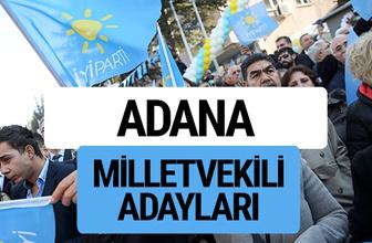 Adana İyi Parti milletvekili adayları YSK kesin isim listesi