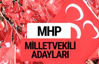 MHP milletvekili adayları 27. dönem milletvekilleri isim listesi