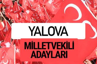 MHP Yalova milletvekili adayları 2018 YSK kesin listesi