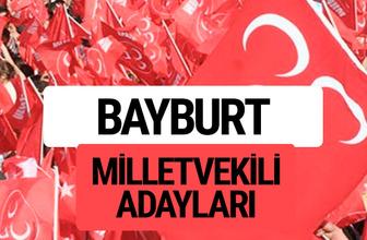 MHP Bayburt milletvekili adayları 2018 YSK kesin listesi