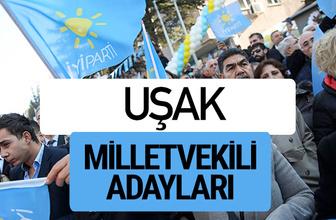 Uşak İyi Parti milletvekili adayları YSK kesin isim listesi
