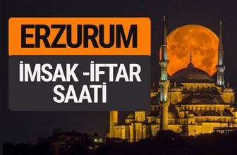 Erzurum imsak vakti iftar sahur saatleri -Sabah akşam ezanı kaçta?