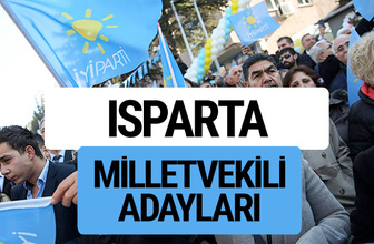 Isparta İyi Parti milletvekili adayları YSK kesin isim listesi
