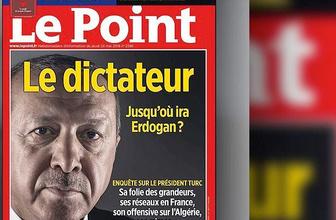 Fransa Le Point dergisinin Erdoğan kapağına Macron desteği