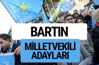 Bartın İyi Parti milletvekili adayları YSK kesin isim listesi