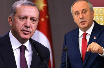 Cumhurbaşkanı Erdoğan'dan İnce hakkında suç duyurusu