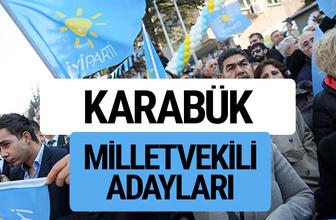 Karabük İyi Parti milletvekili adayları YSK kesin isim listesi