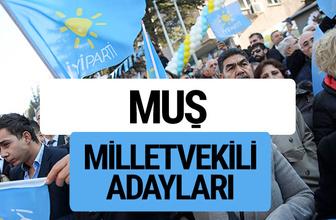 Muş İyi Parti milletvekili adayları YSK kesin isim listesi