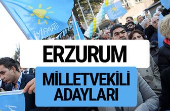 Erzurum İyi Parti milletvekili adayları YSK kesin isim listesi