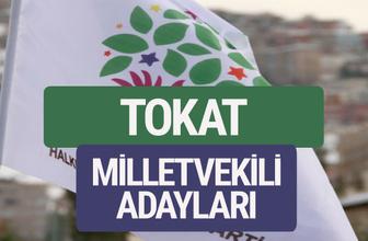HDP Tokat milletvekili adayları 2018 YSK isim liste