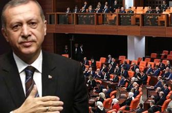 Cumhurbaşkanı Erdoğan 316 imzayla aday oldu!