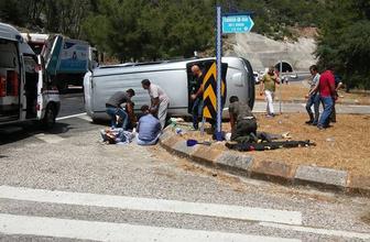 Antalya'da trafik kazası: 4 ölü, 2 yaralı