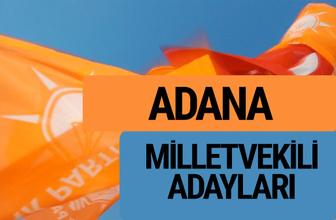 AKP Adana milletvekili adayları 2018 YSK AK Parti kesin listesi