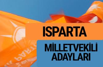 AKP Isparta milletvekili adayları 2018 YSK AK Parti kesin listesi