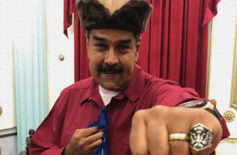 Maduro'dan 'Diriliş Ertuğrul' dizisine övgü!