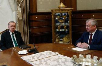 Erdoğan, Putin'in özel temsilcisiyle görüştü! Gündemde ne var?..