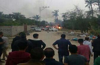 Gazze'de büyük patlama: 5 filistinli hayatını kaybetti!